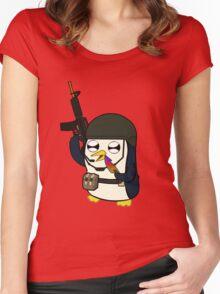 Gunter Strike (No Text)  Women's Fitted Scoop T-Shirt