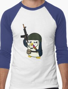 Gunter Strike (No Text)  Men's Baseball ¾ T-Shirt