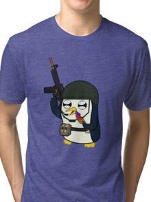 Gunter Strike (No Text)  Tri-blend T-Shirt