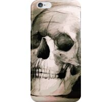 Hand drawing scull iPhone Case/Skin