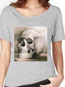 Hand drawing scull Women's Relaxed Fit T-Shirt