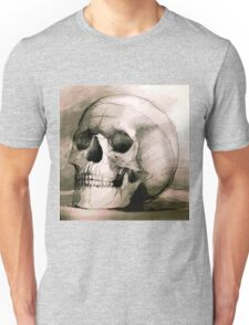 Hand drawing scull Unisex T-Shirt
