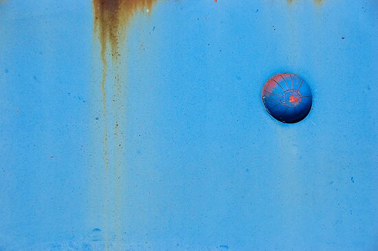 Button Blue by ralarcon