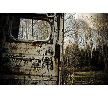 Door to the Outdoor Photographic Print
