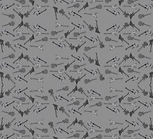 Guitars Pattern by Bethany-Bailey