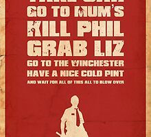 Movie Quote - Shaun of the Dead by garyjbuckland