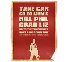 Movie Quote - Shaun of the Dead Poster
