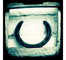 Horseshoe Photographic Print
