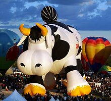 Airabelle Says Welcome to Balloon Fiesta ! 2010 by Paul Albert