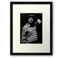 Actor - Noel Thompson Framed Print