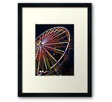 Ferris Wheel in Edinburgh Framed Print