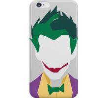 Minimalist Joker iPhone Case/Skin