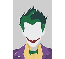 Minimalist Joker Photographic Print