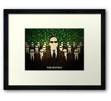 The Matrix Framed Print