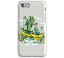 DAGONIN AND CTHULOBBES iPhone Case/Skin