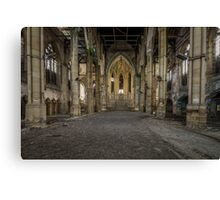 The Church of Giants Canvas Print