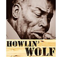 Howlin' Wolf (ink portrait ) Photographic Print