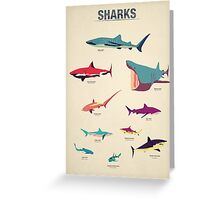 Sharks Greeting Card