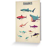 Sharks Greeting Card
