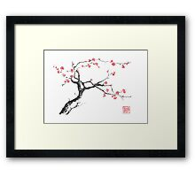 New hope sumi-e painting Framed Print