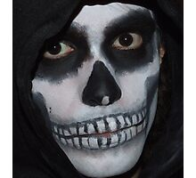Deathly Smile Photographic Print