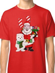 "Santa Claus Says ""Hello"" Classic T-Shirt"