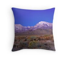 Eastern Sierras Off The Road To Bishop Creek Throw Pillow