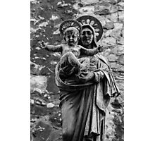 Virgin Mary with Jesus Christ Photographic Print
