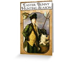 Easter Hunt Greeting Card