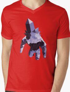 Crystal Golem Mens V-Neck T-Shirt