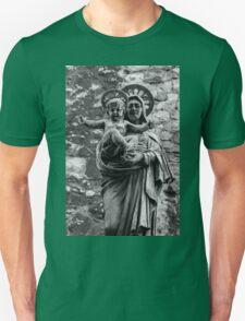Virgin Mary with Jesus Christ Unisex T-Shirt