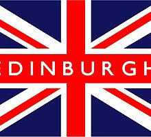 Edinburgh UK Flag by ukedward