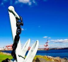 Anchored in Halifax by Paul Clarke