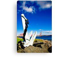 Anchored in Halifax Canvas Print