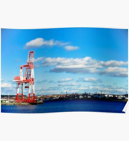 Industry, Halifax Docks Poster
