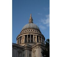 St Paul's Cathedral Dome Photographic Print