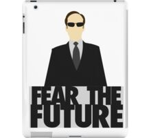 The Matrix - Agent Smith - Fear The Future iPad Case/Skin