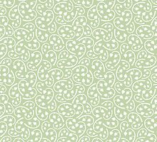 Vintage Detailed Floral Seamless Pattern Background by amovitania