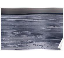 Frozen Lake Ontario Poster