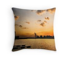 Beautiful Dusk @ Putrajaya Throw Pillow
