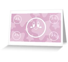 Retro Games: Kirby Greeting Card