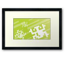 Retro Games: Frogger Framed Print