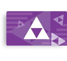 Retro Games: Zelda Canvas Print