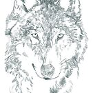 Grey Wolf by Extreme-Fantasy