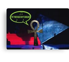 Paul Ankh in concert Canvas Print