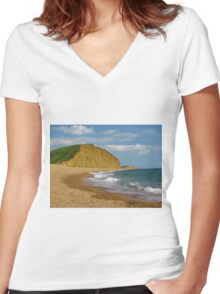 """"""" Broadchurch """" Women's Fitted V-Neck T-Shirt"""