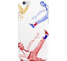 Jumping Fred Flash iPhone Case/Skin