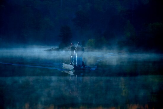 Early Morning at Lake by Mary Ann Reilly
