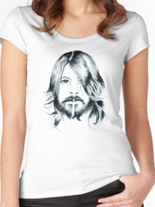 Dave Grohl Women's Fitted Scoop T-Shirt