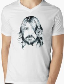Dave Grohl Mens V-Neck T-Shirt